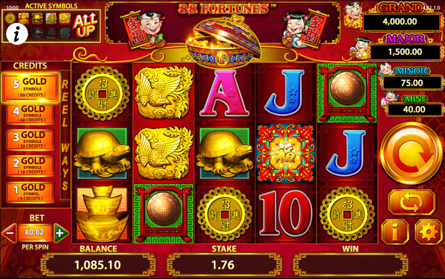 An amazing moment with Leagues of Fortune Slot Machine